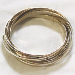 Vintage Silver Color Infinity Bracelets